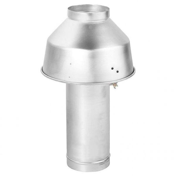 Дымовой колпак BAXI ANTIREFOULEUR D.180 со стабилизатором для котлов SLIM EF...