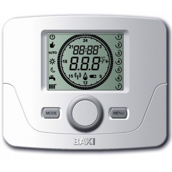 Датчик комнатной температуры BAXI 7 days program timer