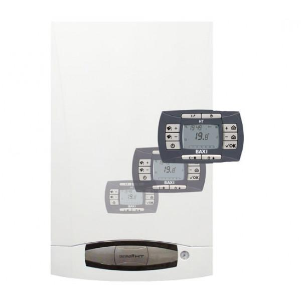 Газовый котел BAXI NUVOLA3 COMFORT 240 Fi 24,4 кВт настенный, закрытая камера...