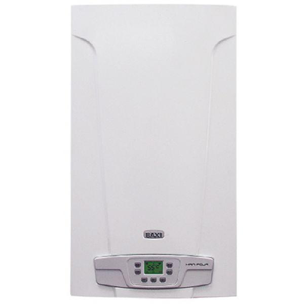 Газовый котел BAXI ECO HOME 10 F 10 кВт настенный двухконтурный, закрытая камера...
