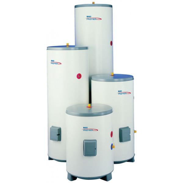 Бойлер BAXI PREMIER PLUS 100 косвенного нагрева, напольный, 30 кВт, накопительны...