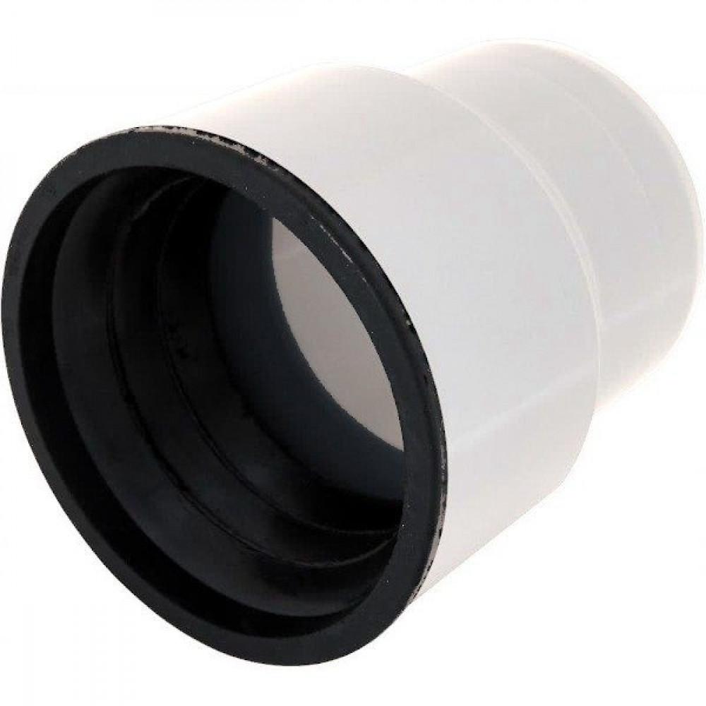 Переход с чугуна на пластик (тапер) малошумный в комплекте с манжеткой 110/124