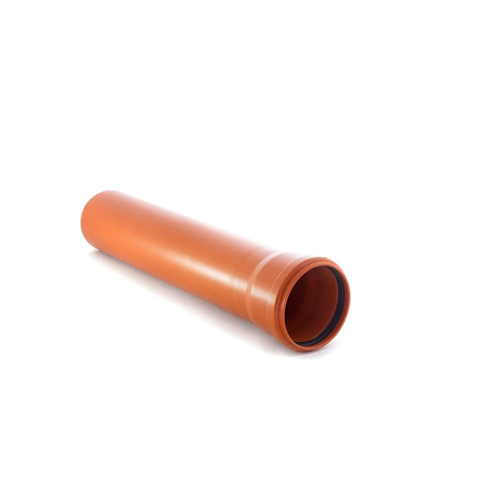Труба наружная гладкая 110х3,4х2000мм