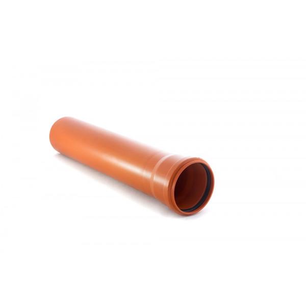 Труба наружная гладкая 110х3,4х 500мм