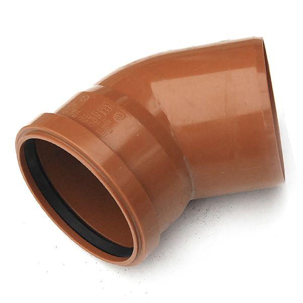 Отвод наружной канализации 110х45 РТП