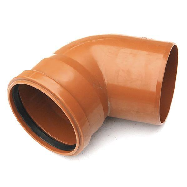 Отвод наружной канализации 110х67 РТП