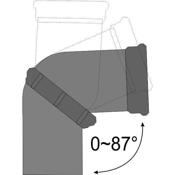 Отвод универсальный 110 ВК
