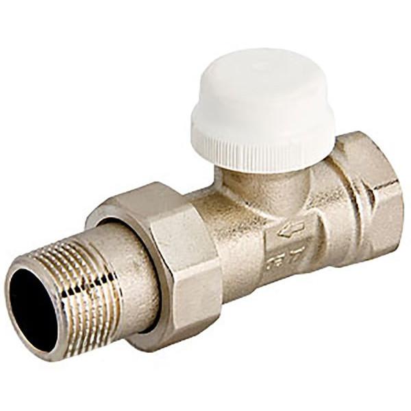"""Термостатический клапан с преднастройкой прямой G½"""" x G½"""""""